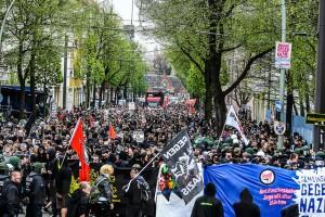 4000 auf Antifa-Demo in Schöneweide