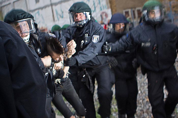 Rund 20 Menschen wurden festgenommen